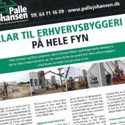 Pressemeddelelse for Palle Johansen skrevet af Courage Design