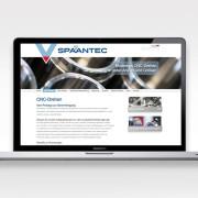 Hjemmesidetekst til Spaan Tec skrevet af Courage Design