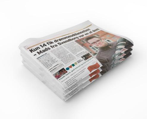 Pressemeddelelse skrevet af Courage Design