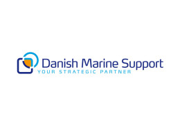 Logodesign til Danish Marine Support ved Courage Design