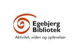 Logodesign til Egebjerg Bibliotek ved Courage Design
