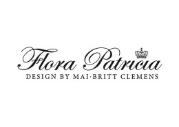 Logodesign til Flora Patricia Design Aps ved Courage Design
