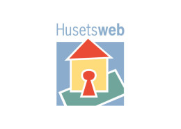 Logodesign til Husetsweb ved Courage Design