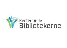Logodesign til Kerteminde Bibliotekerne ved Courage Design