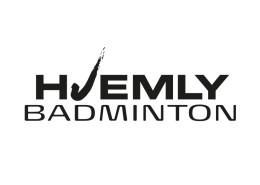 Logodesign til badmintonlinjen på Hjemly Idrætsefterskole ved Courage Design