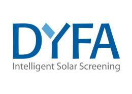 Logodesign til fremstillingsvirksomheden Dyfa ved Courage Design