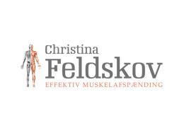 Logodesign til Christina Feldskov ved Courage Design