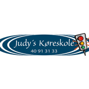 Logodesign til Judys Køreskole ved Courage Design
