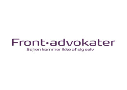 Logodesign til Frontadvokaterne ved Courage Design