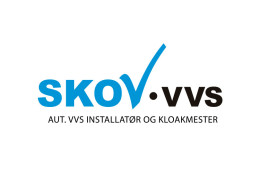 Logodesign til Skov VVS - VVS- og blikkenslagerforretning ved Courage Design