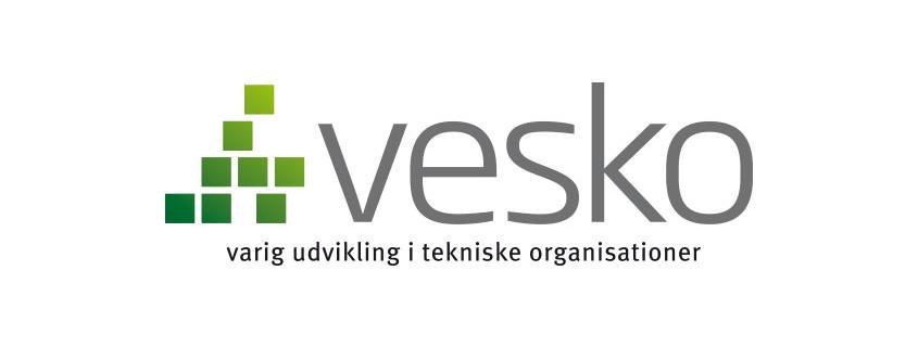 Logodesign af Vesko logo ved Courage Design