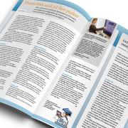 Nyhedsbrev til Husetsweb udarbejdet af Courage Design