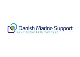 Logodesign til Danish Marine Support ved Courage Design