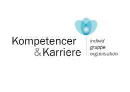 Logodesign til Kompetencer og Karriere ved Courage Design