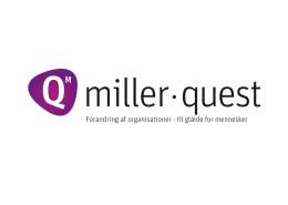 Logodesign til Miller Quest ved Courage Design