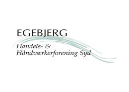 Logodesign til Egebjerg Handels- og Håndværkerforening ved Courage Design