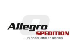 Logodesign til Allegro Spedition ved Courage Design