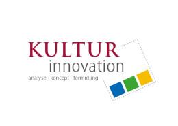 Logodesign Kultur Innovation ved Courage Design