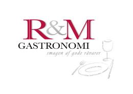 Logodesign til R&M Gastronomi ved Courage Design