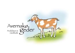 Logodesign til Avernakø Geder ved Courage Design