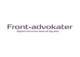 Logodesign til Frontadvokaterne ved Courage Design